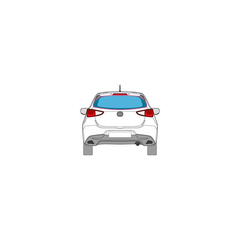 PKW Fahrzeugbeschriftung auf der Heckscheibe