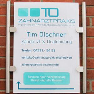 Außenwerbung Schilder Hamburg