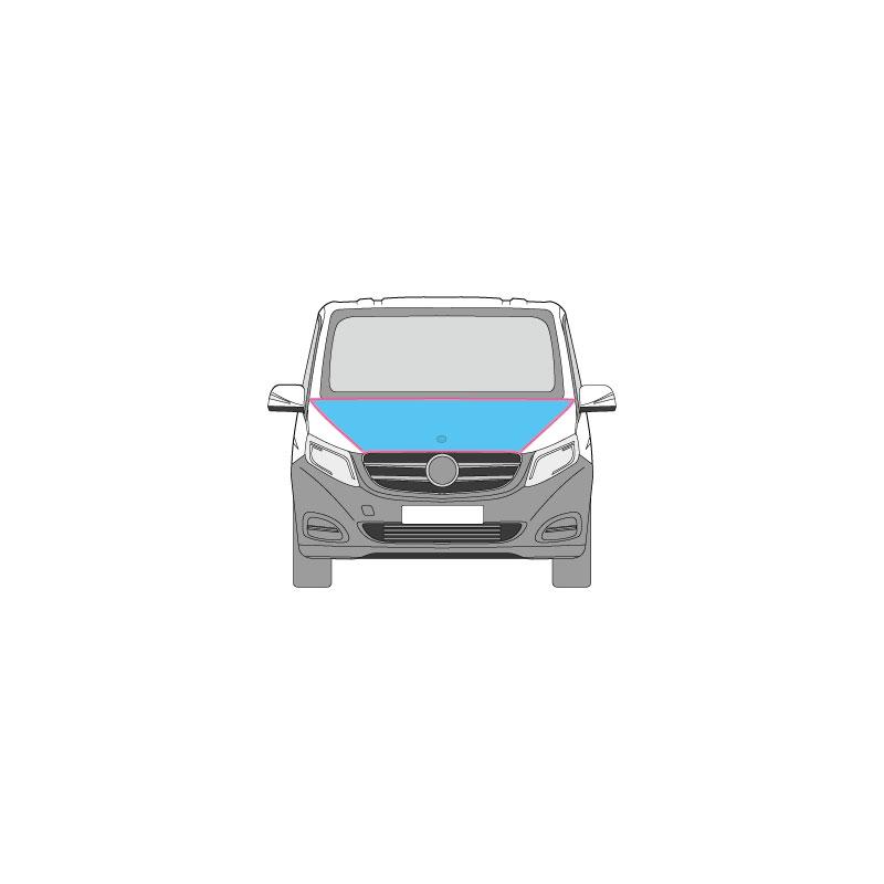 Kastenwagen Fahrzeugbeschriftung nur auf der Motorhaube