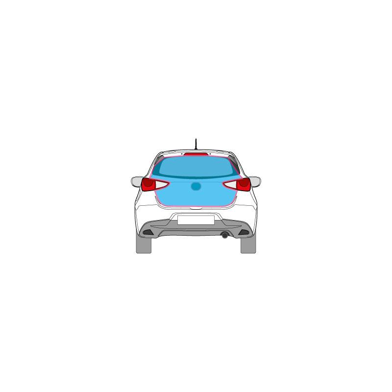 PKW Fahrzeugbeschriftung auf dem gesamten Heck