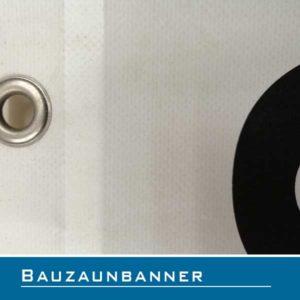 Bauzaunbanner Lübeck PVC-Banner Baustelle kein Zutritt